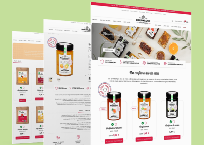 Site e-commerce Bioloklock